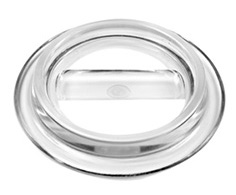 Lucite - Clear Piano Caster Cups