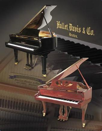 Hallet and Davis Grand Pianos hallet and davis pianos history serial numbers Upright Piano at panicattacktreatment.co
