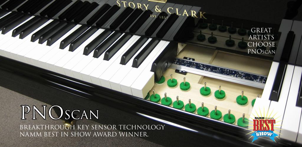 QRS PNOscan Studio - Midi Acoustic Piano Record, Practice