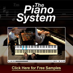 Receive Free Piano Lessons by Email -- Click Here