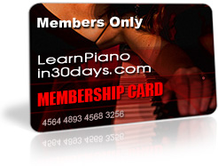 Play Piano in 30 Days - 14 Day TRIAL for ONLY $1 -- CLICK HERE