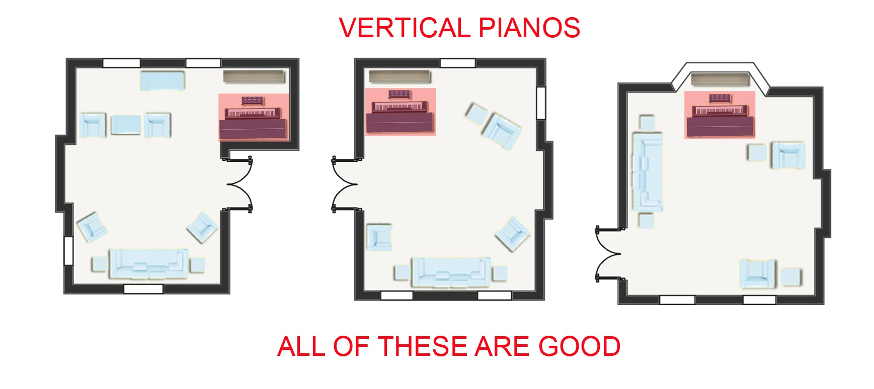 Piano Room Placement Where To Position Your Piano In A Room