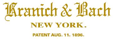 kranich & bach serial numbers