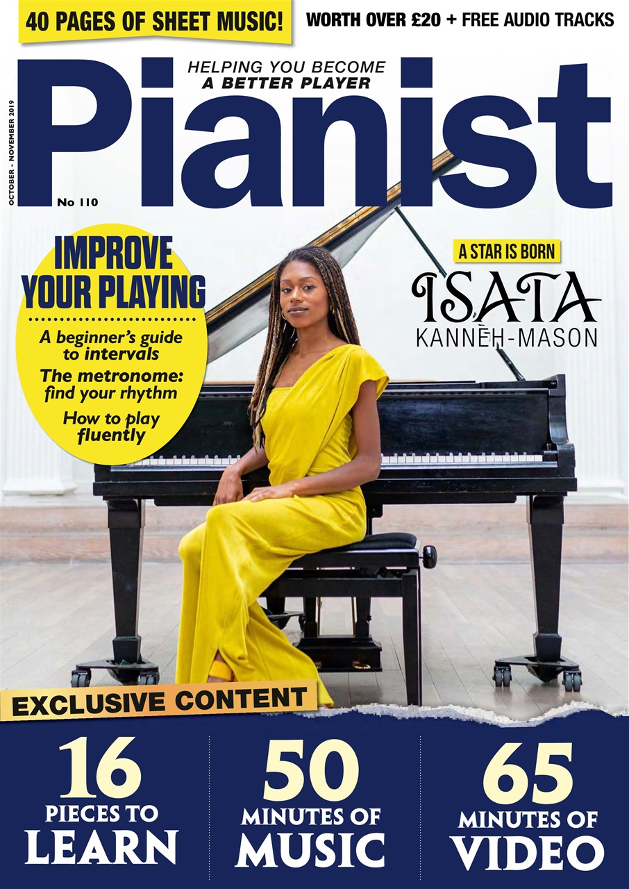 PIANIST Magazine October 2019 & November 2019 Issue 110
